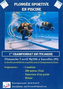 Premier championnat r gional de psp plong e sportive en for Piscine sarcelles